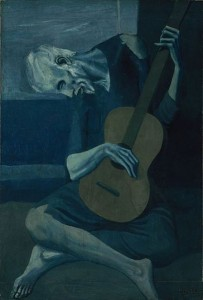 The Old Guitarist Pablo Picasso, 1903
