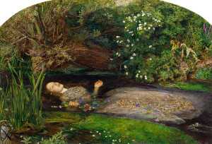 Ophelia by John Everett Millais (1852)