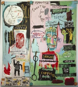 Jean-Michel Basquiat, In Italian (1983)