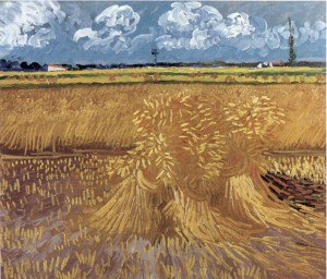 Wheat Field by Vincent van Gogh (1888)