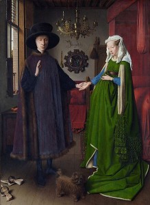Jan Van Eyck, The Arnolfini Wedding (1434)