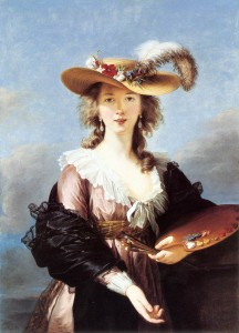 Self-Portrait by Elisabeth Vigée Lebrun (1782)