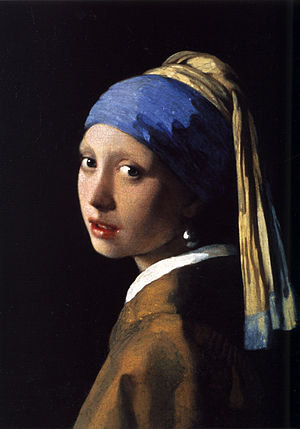 Girl with a Pearl Earring by Johannes Vermeer (1665)